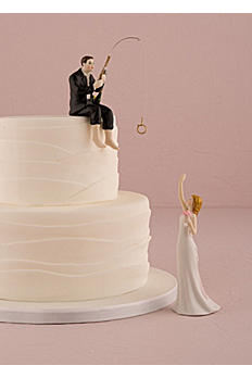 Hooked on Love Cake Topper 9014
