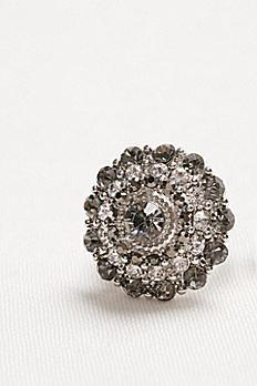Shades of Grey Crystal Ring R11042678