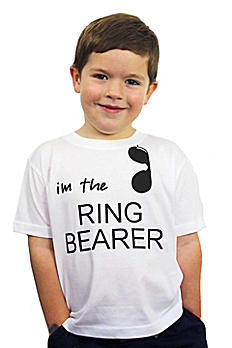 I'm The Ring Bearer Hashtag Nailed it Tee RB954