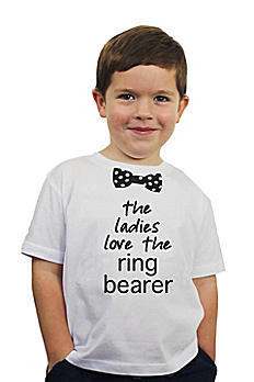 The Ladies Love the Ring Bearer Tee RB997