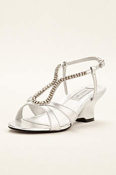 Touch Ups Grey Sandals (Regina Wedge Sandal by Touch Ups)