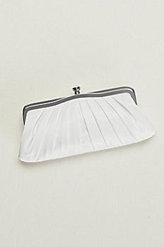 Pleated Satin Clutch RL30021AG
