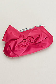 Satin Bow Clutch RL30203