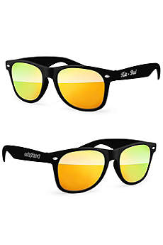 Personalized Retro Mirrored Party Sunglasses