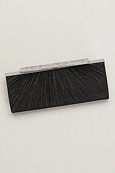 Pleated Sparkling Clutch S2238FJA