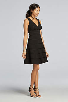 Short A-Line Tank Cocktail and Party Dress - Scarlett Nite