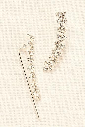 Crystal Ear Climber Earrings SAR10395