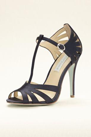 Blue by Betsey Johnson High Heel T-Strap Sandal - Davids Bridal