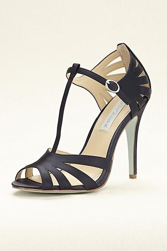 Blue by Betsey Johnson High Heel T-Strap Sandal SBTEASR
