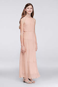 Soft & Flowy Speechless Short Bridesmaid Dress