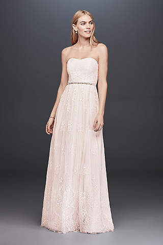 Long Sheath Casual Wedding Dress Db Studio
