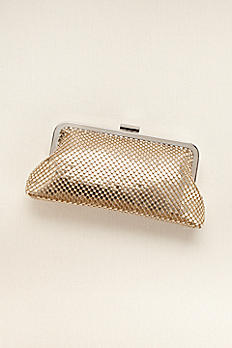 Metallic Mesh Clutch SHINE