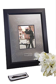 Personalized Signature Frame with Beveled Frame