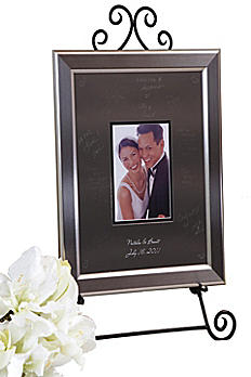 Personalized Signature Frame With Titanium Frame SKTF