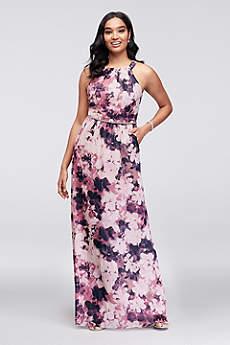 Long A-Line Halter Formal Dresses Dress - SL Fashions