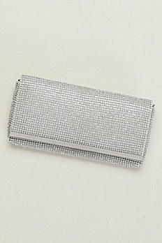 Crystal Mesh Clutch SNE289