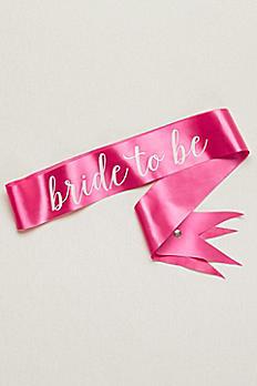 Bride to Be Sash SPBP431