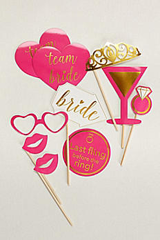 Bachelorette Photo Props Set of 10 SPBP434