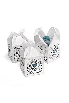 Ornate Diecut Favor Boxes Set of 25 SQORNATEBX