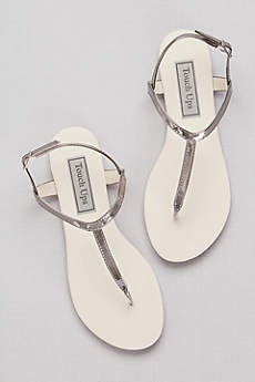 Touch Ups Beige (Simple Patent Thong Sandals)