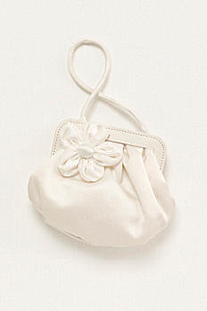 Flower Girl Handbag with 3D Floral Detail SWEETPEA