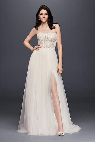 Vintage Wedding Dresses - Lace &amp Gown Styles  David&39s Bridal
