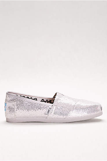 TOMS Glitter Classic Slip-On Shoes