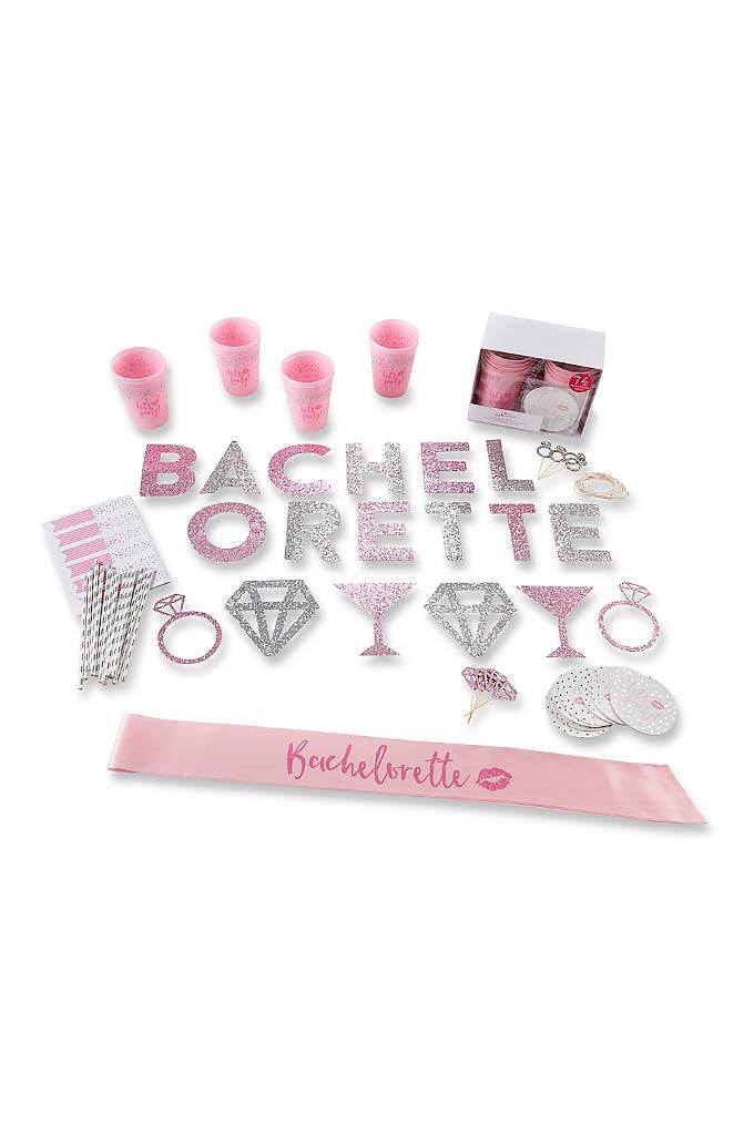 74 Piece Glitter Bachelorette Party Kit - Our 74 Piece Bachelorette Party Kit has everything
