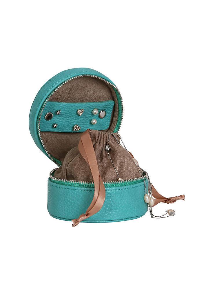 Joy Faux Leather Travel Jewelry Case - The Joy Faux Leather Travel Jewelry Case features