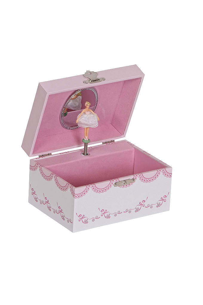 Clarice Girl's Musical Ballerina Jewelry Box - The Clarice Girl's Musical Ballerina Jewelry Box has