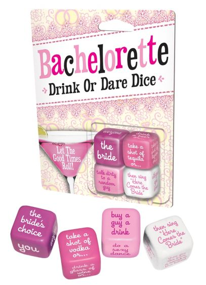 Bachelorette Party Dice Game - Wedding Gifts & Decorations