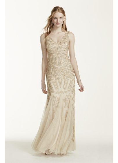 Long Mermaid/ Trumpet Tank Formal Dresses Dress - Adrianna Papell