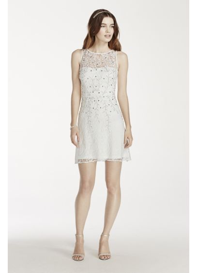 Short Sheath Tank Graduation Dress - Adrianna Papell