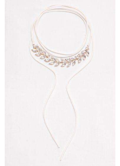 Leaf Stone Wrap Choker - Wedding Accessories