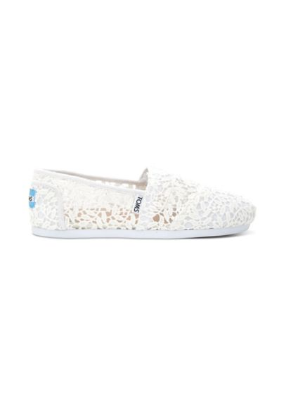 TOMS Lace Leaves Classic Slip-On Shoes 10008033