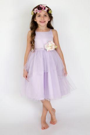 Tulle Flower Dress