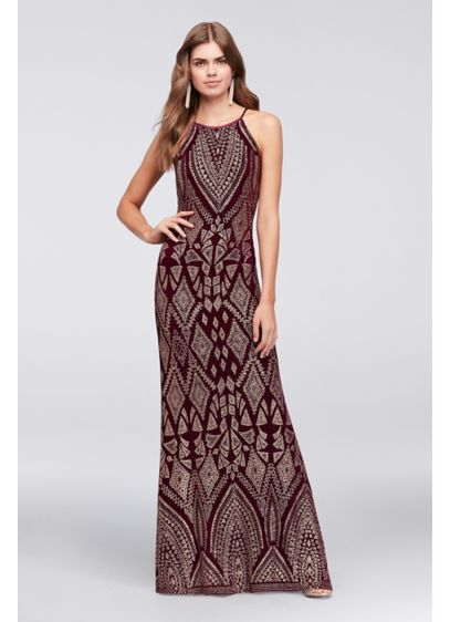 Long Sheath Wedding Dress - Marina