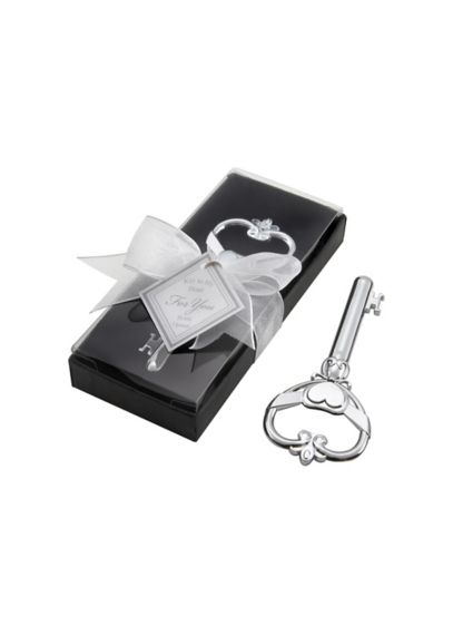 Victorian Key Shaped Bottle Opener - Wedding Gifts & Decorations