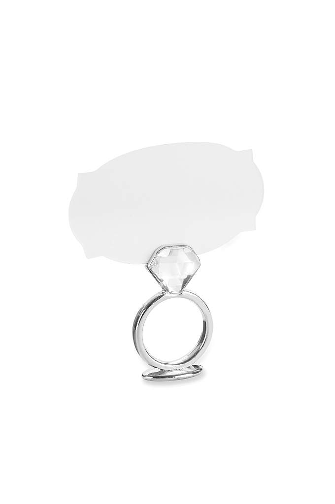 With This Ring Place Card Holder Set of - Dazzling at bridal showers, engagement parties, or rehearsal