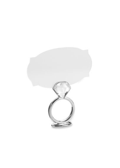 With This Ring Place Card Holder Set of 6 11174NA