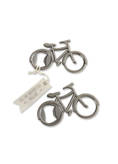 Let's Go On an Adventure Bicycle Bottle Opener - Wedding Gifts & Decorations