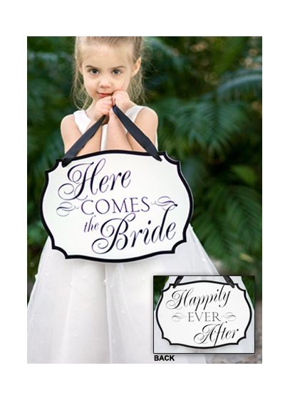 Here Comes The Bride Sign - Wedding Gifts & Decorations