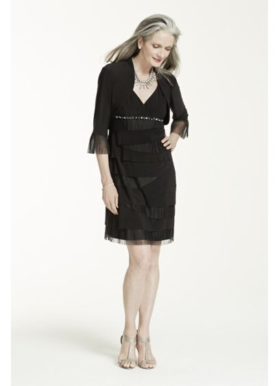 Short Sheath Jacket Mother and Special Guest Dress - SL Fashions