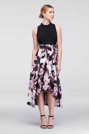 S l fashions long dresses petites