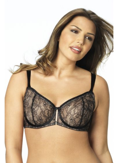 Paramour Decadent Unlined Semi-Demi Bra - Wedding Accessories