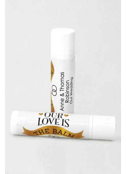 Personalized Wedding Favor Lip Balms - Wedding Gifts & Decorations