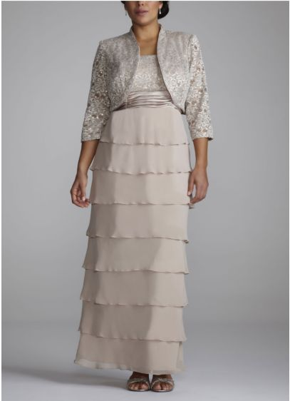 Long Sheath Jacket Formal Dresses Dress - RM Richards