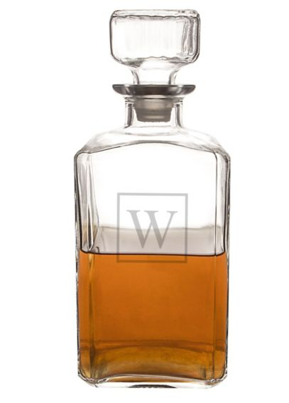 Personalized Glass Decanter 1193