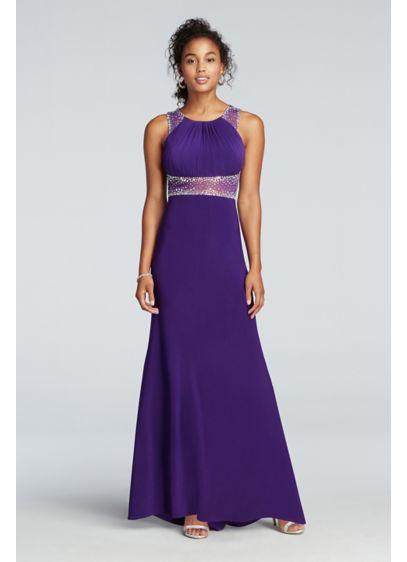 Long Sheath Tank Prom Dress - Morgan and Co