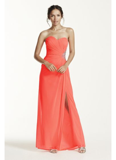 Long Sheath Strapless Formal Dresses Dress - Morgan and Co